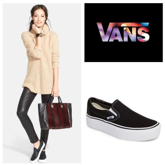 Vans Asher Canvas Platform Sneaker
